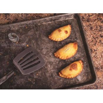 6 Empanadas d'oignons caramelisés et fromage (crues)
