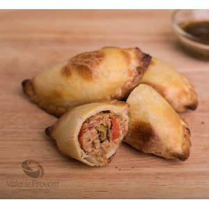 6 chicken empanada (raw)