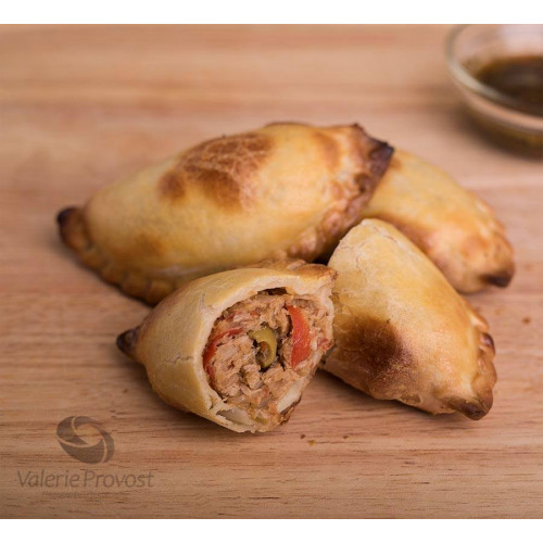 6 Empanadas au Poulet (crues)