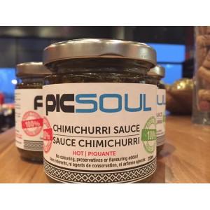 Sauce Chimichurri douce 250ml avec VOTRE LOGO 250ml