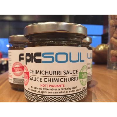 Salsa Chimichurri suave 250ml con vuestro LOGO