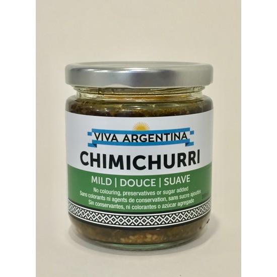 Caisse de 12 Sauce Chimichurri douce 500 ml.