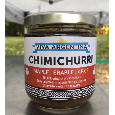 Chimichurri Maple sauce 250ml mild