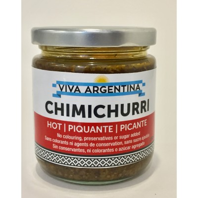 Argentinian Chimichurri Sauce SPICY 250ml